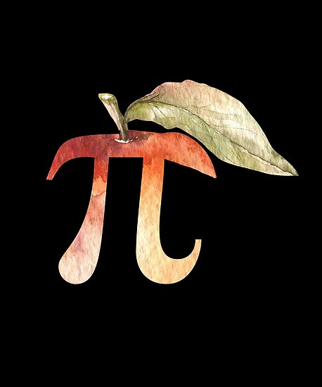 Pi Day Apple Pi Pie Funny Math Science Gifts Posters By