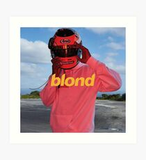 blond Art Print