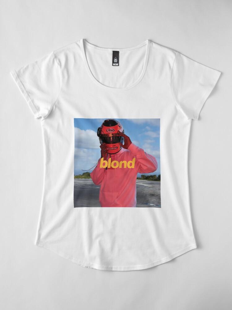 Alternative Ansicht von blond Premium Rundhals-Shirt