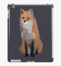 Simplistic Red Fox iPad Case/Skin