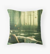Remembering How To Breathe... Throw Pillow