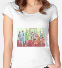 Victorian era Women's Fitted Scoop T-Shirt