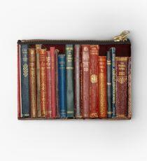 Mini library ~ of Classic books Zipper Pouch