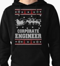 Merry Corporate engineer Ugly Christmas Sweater Funny Tshirt Pullover Hoodie