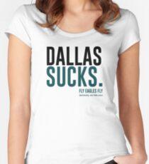 Dallas Sucks Women's Fitted Scoop T-Shirt