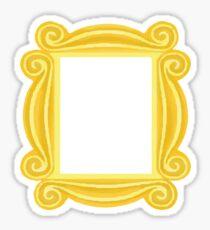 Guckloch-Rahmen Sticker