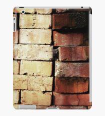 aged used clinker bricks iPad-Hülle & Skin
