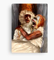 "Woe-Man Series 19: ""yup, she's definitely a red head...!!!"" Canvas Print"