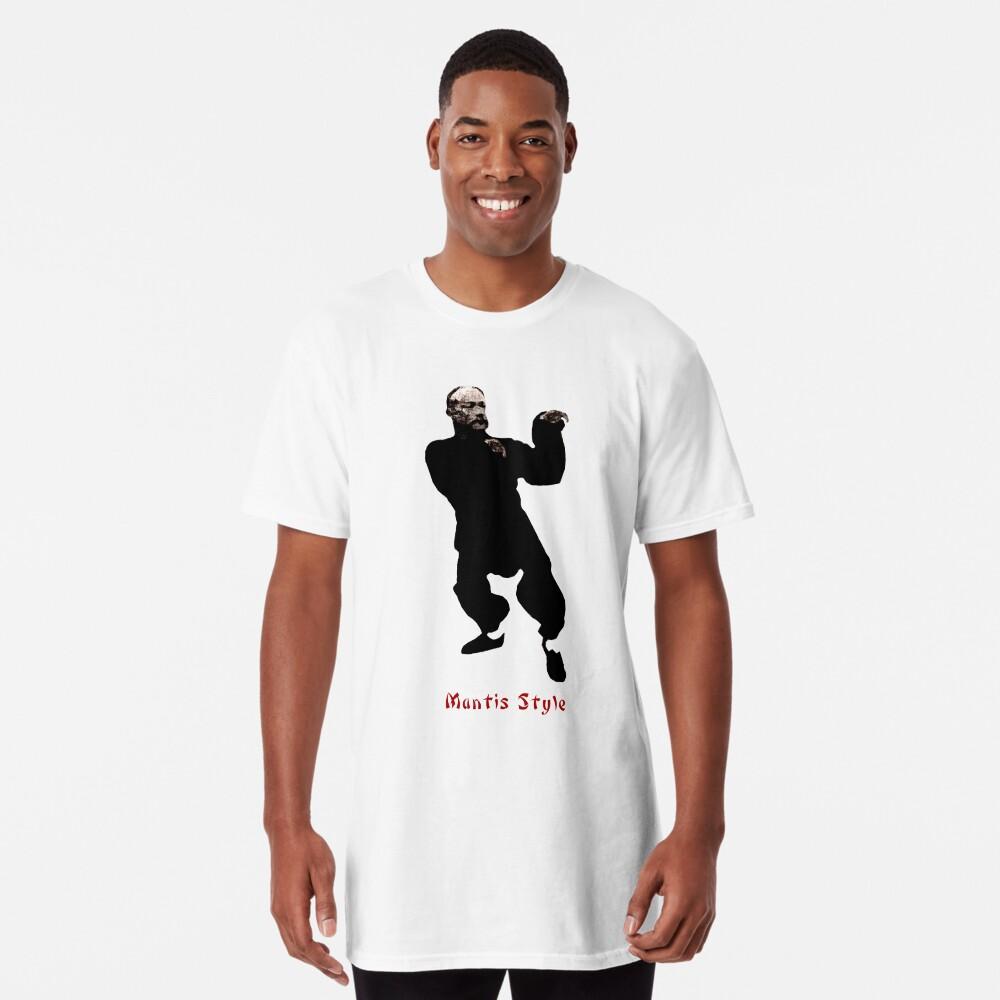 Mantis Style Shaolin Kung Fu T-Shirt Longshirt