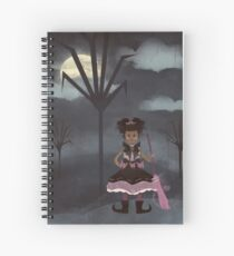 Tiny Witch Spiral Notebook