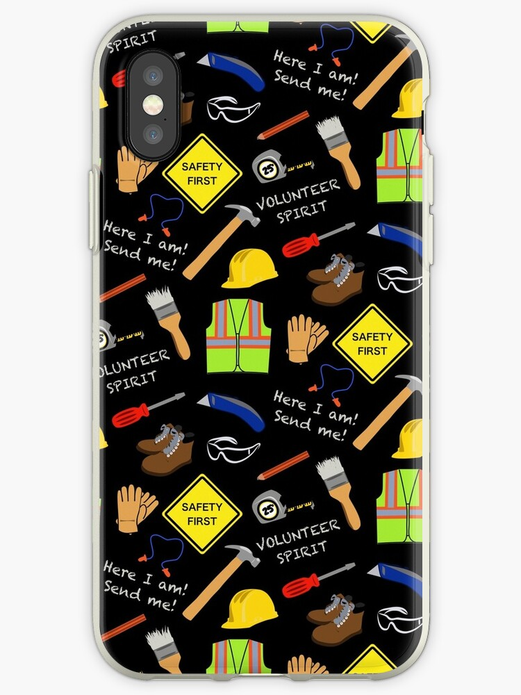 71a96ac3e6 Safety first construction volunteer black