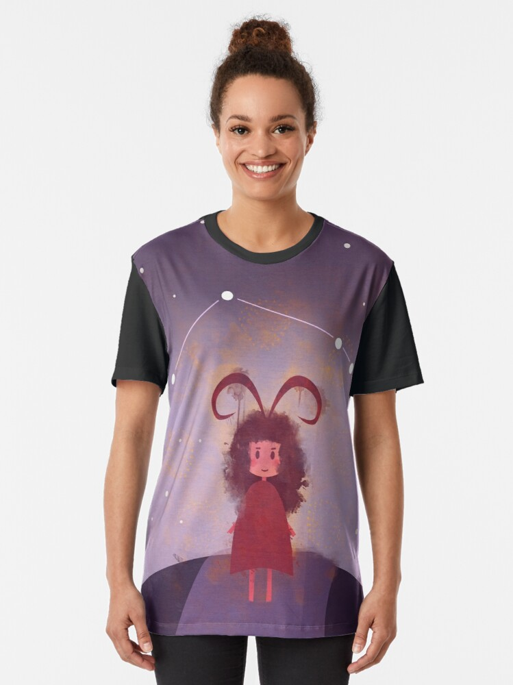 Alternate view of Aries Graphic T-Shirt