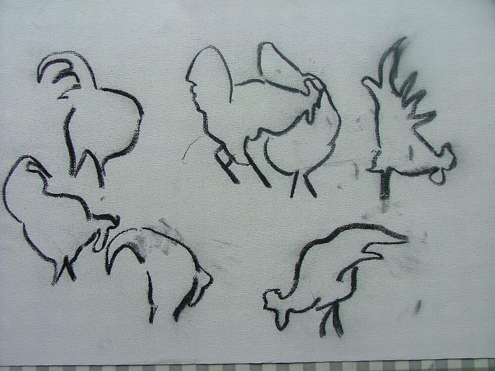 Cockerels by sassie