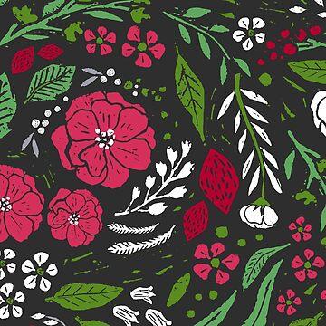 Festive Botanical by JMHurd