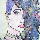 Galaxie-Mädchen von Kendra Kantor