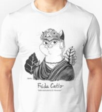#meowdernart - Frida Catlo T-Shirt