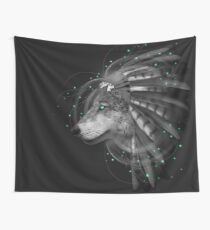 Don't Define Your World (Chief of Dreams: Wolf) Wall Tapestry