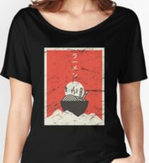 Vintage Japanese Anime Ramen Women's Relaxed Fit T-Shirt