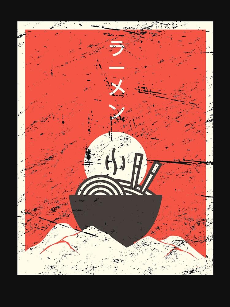 Vintage Japanese Anime Ramen by ethandirks