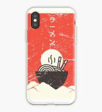 Vintage Japanese Anime Ramen iPhone Case