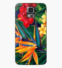 Tropical Paradise Hawaiian Birds of Paradise Illustration Case/Skin for Samsung Galaxy