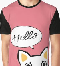 Hello - Moony Graphic T-Shirt