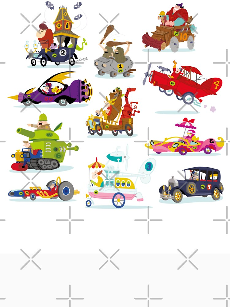 Wacky Races by AmericanPoison