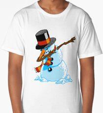 Dabbing Snowman Long T-Shirt