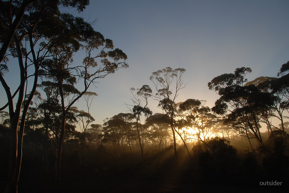 Mount Holland Dawn by outsider