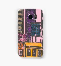 view from the moma (pink) Samsung Galaxy Case/Skin