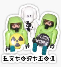extortion - f*ck work Sticker