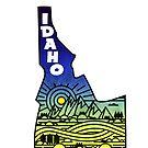 Idaho by MyHandmadeSigns