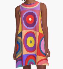 Kandinsky #25 A-Line Dress