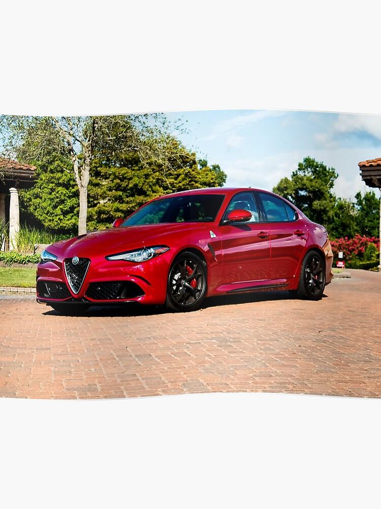 Alfa Giulia Qv >> Alfa Romeo Giulia Qv Poster