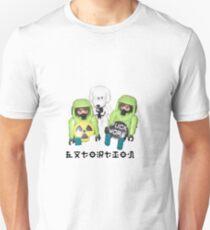 extortion - f*ck work Slim Fit T-Shirt