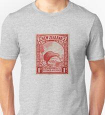 """1936 New Zealand Kiwi Stamp"" T-Shirt"
