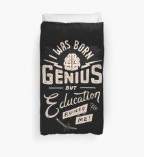 Born Genius Duvet Cover