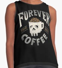 Forever Coffee Contrast Tank