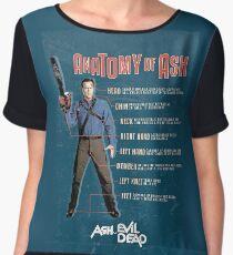 The Anatomy of Ash Chiffon Top