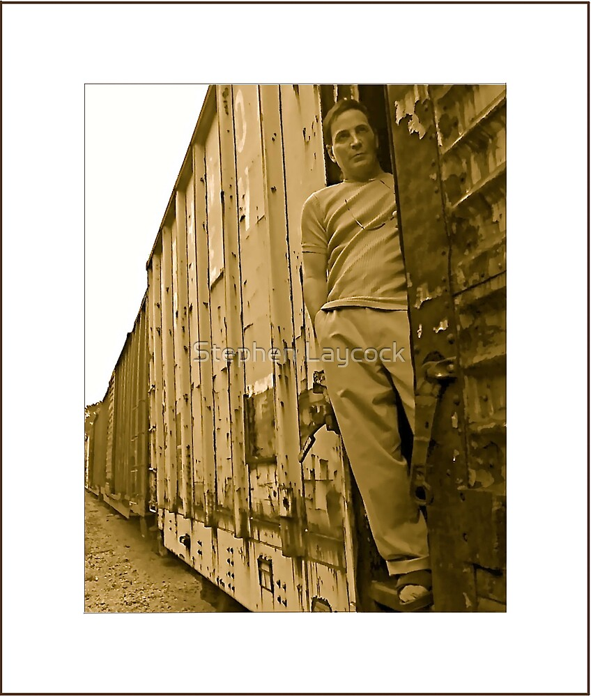 """Rail Boy"" - Stephen Layock by Stephen Laycock"