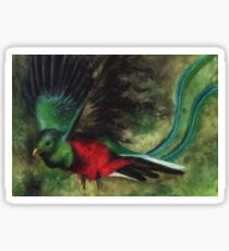 Animal Abstractions: Quetzal Sticker