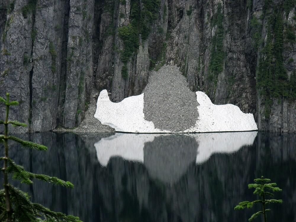 Snow Lake by Corey Bigler