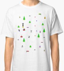 Vintage Ski Spiel Classic T-Shirt