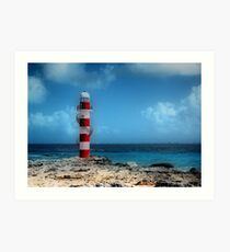 """Rendition of the """"Light House""""  Art Print"""