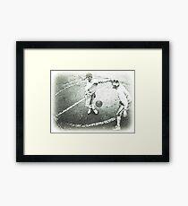 Вasketball dancer Framed Print