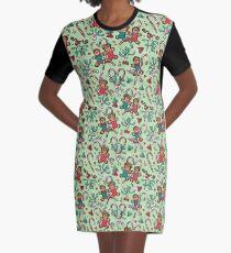 Gingerbread Over Heels Graphic T-Shirt Dress