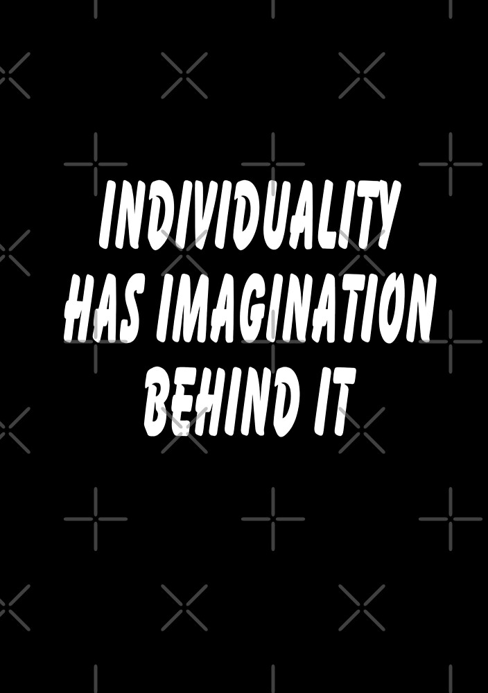 Individuality by C J Lewis