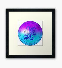 Sigil of water Framed Print