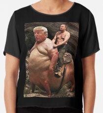 Putin riding Trump Chiffon Top