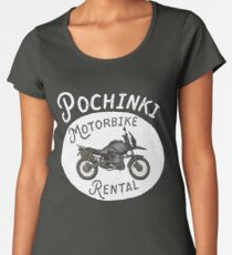PUBG - Pochinki Motorbike Rental Women's Premium T-Shirt